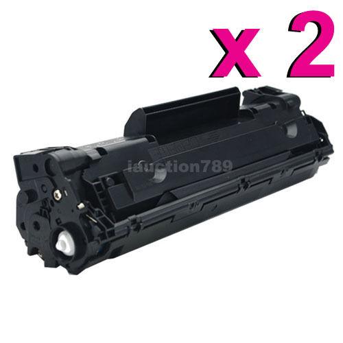 2x TONER Cartridge CE285A 85A compatible For HP LaserJet M1212NF P1102 P1102W
