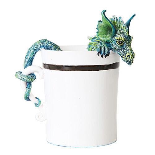 GOOD MORNING DRAGON Figurine Fairy Figure Amy Brown teacup faerie coffee cup