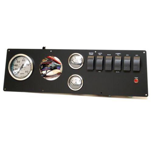Boat Instrument Panel : Boat gauge panel ebay