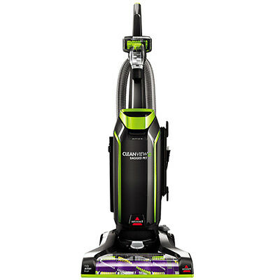BISSELL CleanView Bagged Pet Upright Vacuum Lightweight Carp