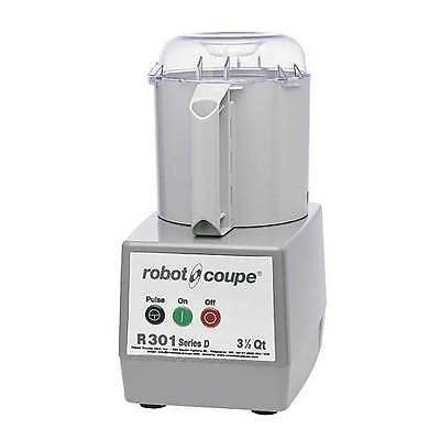 Robot Coupe R301b Food Processor With 3.5 Quart Gray Bowl
