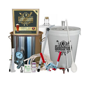 Home Brewing Equipment Package With Free Beer Kit