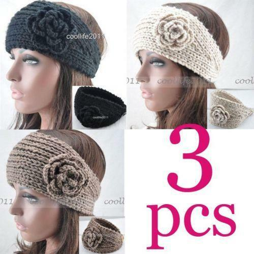 Buy It Now. Item Location. see all. Default. Within Black Bling Flower Knit Headband Women Ear Warmers Crochet Head wrap See more like this. NEW WOMEN KNITTED ROSE HEADBAND HAIR BAND SKI HAT EARMUFFS WINTER. Brand New. $ to $ Buy It Now. Free Shipping.
