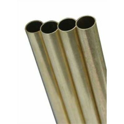 Ks Metal Round Tube 332 X 12 Brass