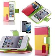 iPhone 4 Leather Flip Case Credit Card
