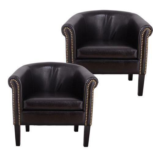 Black Leather Kitchen Chairs: Black Leather Club Chair