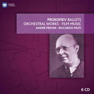 Ballett-,Orch.-& Filmmusik von Andre Previn,Riccardo Muti (2012), Neu OVP, 6 CD