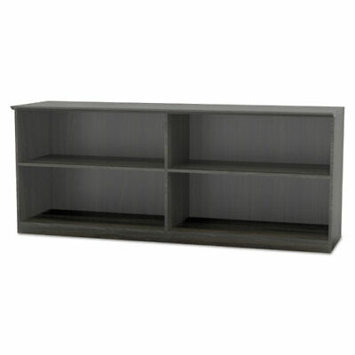 Mayline Medina Series Low Wall Cabinet - 72 X 20 X 29.5 1 Top - 2 Shelves