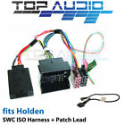 Car Steering Wheel Controls Wire Harnesses for Holden