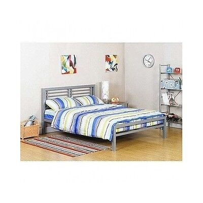 Full Size Metal Bed Frame Platform Kids