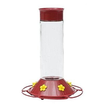 Perky Pet 209B Glass Hummingbird Feeder, 30 Oz, Red (Older Model)
