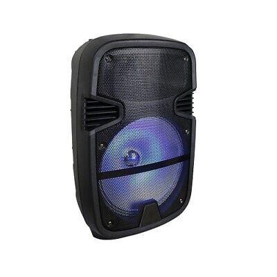 "QFX PBX-1201 12"" Rechargeable Speaker Bluetooth/FM/USB/TF/AU"