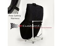 mercedes sl129 custom cover stand and harness