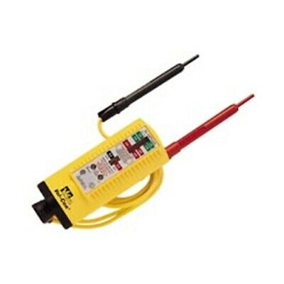 Ideal 61-076 Vol-con Solenoid Voltagecontinuity Tester With Led Lamp Indicator
