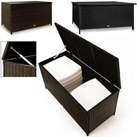 Rattan Garden Storage Box