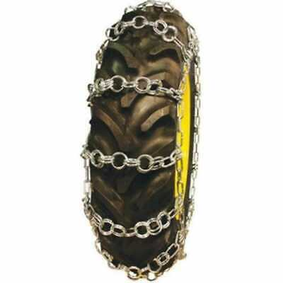 Tractor Tire Chains - Double Ring 20.8 X 34 - Sold In Pairs 125544-eas