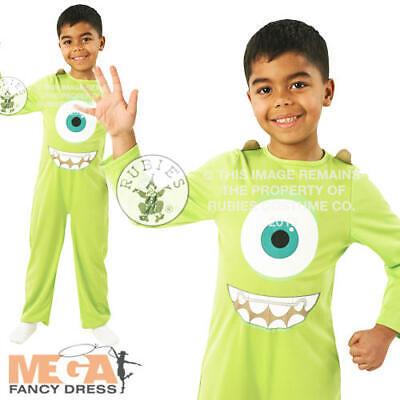 stume Kids University Movie Boys Halloween Child Fancy Dress (Monsters Inc Halloween-kostüme)