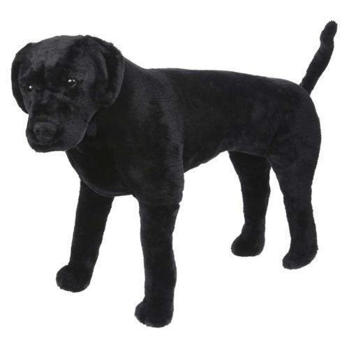 life size stuffed dog ebay. Black Bedroom Furniture Sets. Home Design Ideas