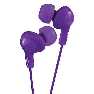 JVC Gumy Plus In-Ear Headphones Earbuds - Violet