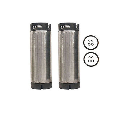 Set Of Two 5 Gallon Ball Lock Home Brew Beer Kegs - Reconditioned Pepsi Soda Keg