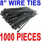 Zip Ties 1000 Black