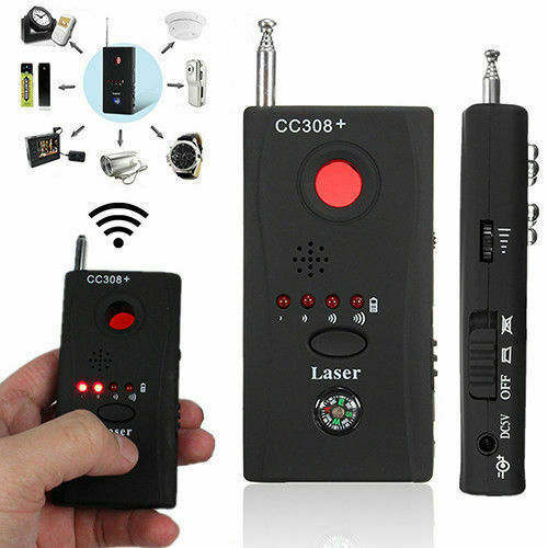 CC308+ Anti-Spy RF Signal Bug Detector Hidden Camera Laser Lens GSM Finder