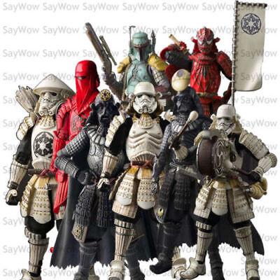 "Star Wars Movie Realization  Japanese Samurai  Action Figure 7""New"