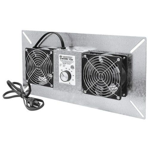 Tjernlund V2D UnderAire Crawlspace Ventilator Exhaust Fan Deluxe Model 220 CFM