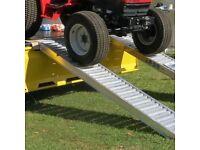 Lightweight Aluminium Rampco ramps suit van truck trailer jcb digger roller trailer tractor cars