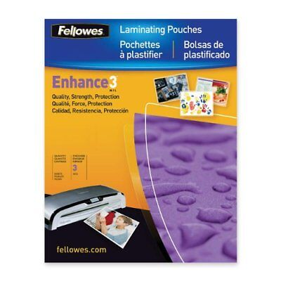 Fellowes Pouch Laminating Film - Letter 9 Width X 11.5 Length - Self-adhesive