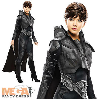 Faora Ladies Fancy Dress Superman Man of Steel Villian Adults Halloween Costume  - Faora Halloween Costume
