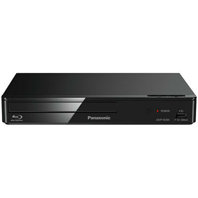 Panasonic DMP-BD84EB-K Smart Blu-Ray Disc Player With Smart Networking Functions
