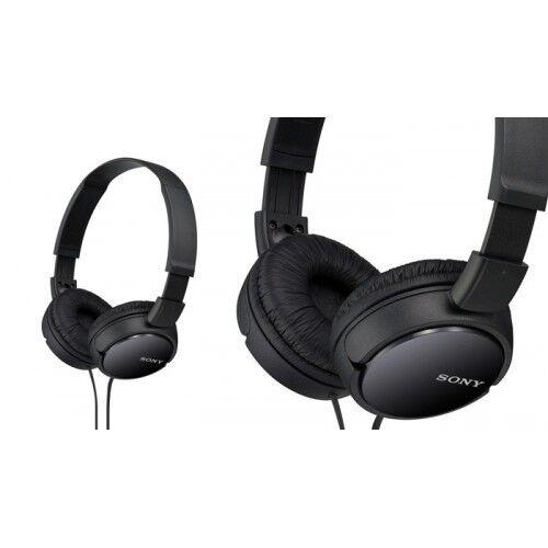 Sony ZX Series On-Ear Headphones Black MDRZX110/B
