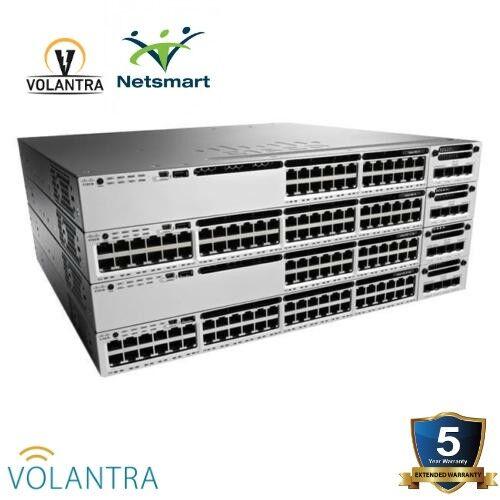 New Cisco (ws-c3850-12xs-s) Sfp+ 12 Port Ip Base Lifetime Warranty
