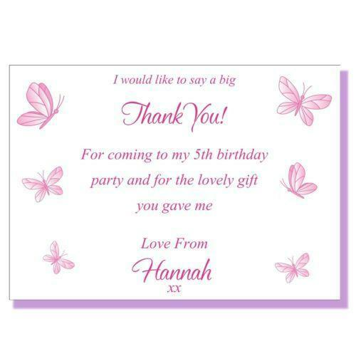 Childrens Thank You Cards Ebay