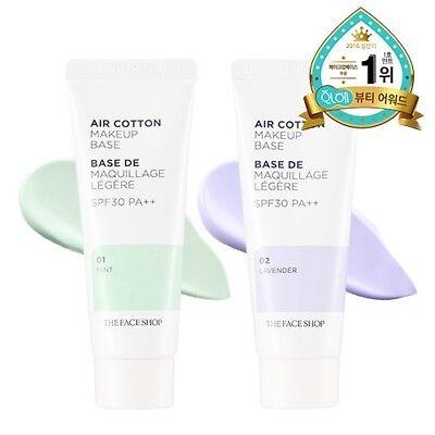 [THE FACE SHOP] Air Cotton Makeup Base 40g /Korea