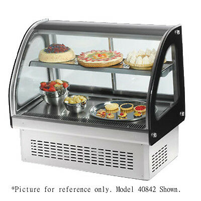 Vollrath 40843 48 Drop-in Refrigerated Display Case