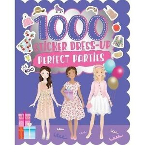 1000 Sticker Dress-Up Perfect Parties,  | Paperback Book | Good | 9781472391650