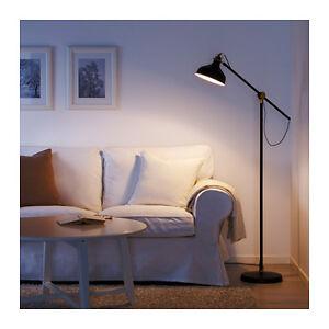 NEW IKEA RANARP BLACK FLOOR / READING LAMP HEIGHT 153cm HOME OFFICE STUDY