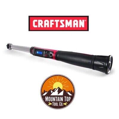 New Craftsman 3/8 Drive Digi-Click Digital Torque Wrench 5-80 ft lbs 13918