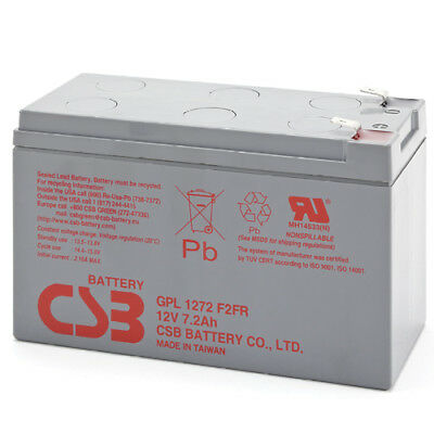 CSB Battery 12V 7.2Ah Long Life Battery