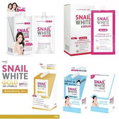 NAMU LIFE SNAIL WHITE BEST SELL WHITENING DAY CREAM / SERUM / GOLD / ICY