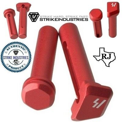 Strike Industries ULTRA LIGHT Enhanced Extended Take Down Front & Rear Pins (Ar Hunting Rifles)