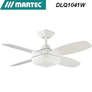 Brand New Martec Quadrant DLQ1041W - White Ceiling Fan Panania Bankstown Area Preview