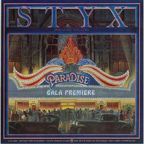 Styx Paradise Theater Music Ebay