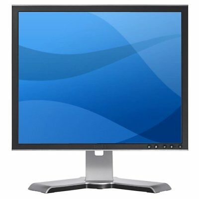 "DELL 19"" TFT/LCD COMPUTER PC MONITOR SCREEN VGA 19 INCH FLAT SCREEN  GRADE A"