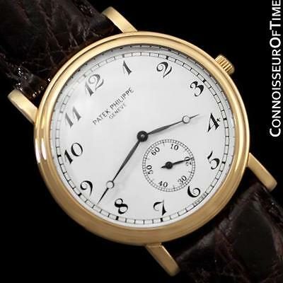PATEK PHILIPPE CALATRAVA Mens Officer's Watch, Ref. 5022J - 18K Gold