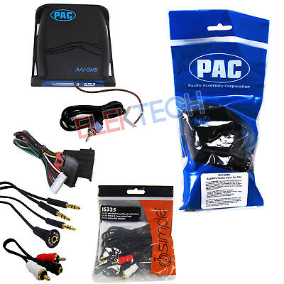 PAC AAI-GM9 Auxiliary Input Interface Module w/RCA Cable Extender & Dock for (Auxiliary Dock)