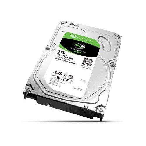 Seagate BarraCuda   3TB Festplatte   ST3000DM008   SATA 6Gb/s   3,5