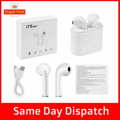 i7S TWS HEADPHONES EARPHONES - WIRELESS BLUETOOTH 5.0 (WHITE) ??